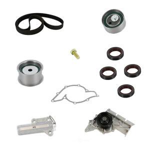 Engine Timing Belt Kit with Water Pump-Water Pump Kit Continental Elite