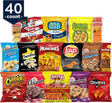 Frito Lay Ultimate Snack Care Package Variety Assortment Of Chips Cookies 40 Pk