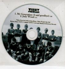(ET454) Vinny Peculiar, My Generation (I Said Goodbye) - 2011 DJ CD