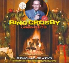 CD + DVD - BING CROSBY - CHRISTMAS BY THE FIRE - 2011 - BRAND NEW