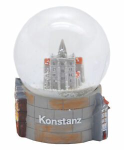 Souvenir Schneekugel Konstanz Münster
