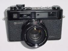 Yashica Electro 35 GTN 35mm Film Fotocamera a telemetro con obiettivo 45mm F1.7 - Nero