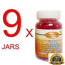 9 jars of Capsules Vinaga DHA GAC Oil Momordica Cochinchinensis Anti-aging