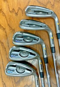 PING G-SERIES IRONS Yellow Dot sets