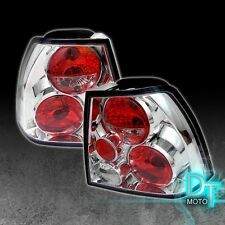 99-05 VW Jetta Mk4 Euro Clear Altezza Rear Tail Brake Lights Lamps Left+Right