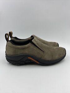 Merrell Mens Jungle Moc slip on Shoes Gunsmoke size 8.5 M , 513