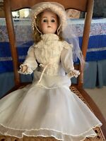 ANTIQUE GERMAN BRUNO SCHMIDT DOLL