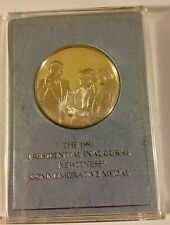 1993 Proof Franklin Mint Clinton Presidential Inaugural Sterling Silver Medal