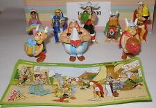 """Komplett Satz """"50 Jahre Asterix"""" aus Holland + alle Bpz"""