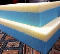 Upholstery reflix high density foam Make Your Own Mattress firm foam and soft