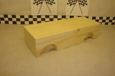 Pinewood Derby Pre-cut #22 Base Wood Block, Create Your Own Special Car!