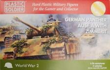 Plastic Soldier - Alemán Panther ausf un con zimmerit - 1:72