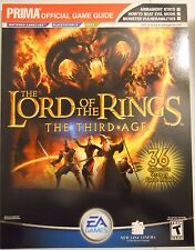 Lord of the Rings The Third Age Prima Strategy Game Guide GC PS2 Xbox
