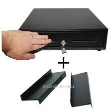 Kassenlade Kassenschublade manuelle Öffnung Touch mit Unterbauwinkeln schwarz