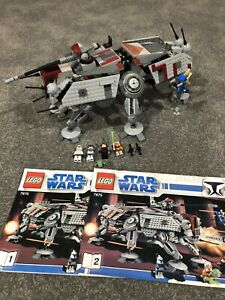 Lego Star Wars 7675 AT-TE Walker 100% Complete with Instructions!