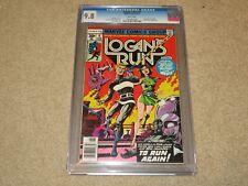 Logan's Run #6 1st Solo Thanos Story CGC 9.8 Marvel 1977 White Pages