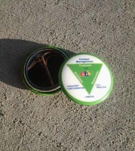 eBay OPEN collectible old logo pin shareholder exclusive pinback ebayana Green