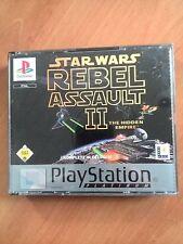 STAR WARS REBEL ASSAULT 2     PS1