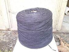 fil à tricoter ruban plat NOIR 1kg350 lacette