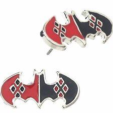 DC Comics Suicide Squad Harley Quinn Logo Posts Earrings W/Gift Box Superhero