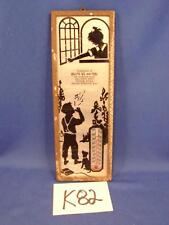 K82 VINTAGE BILLY'S ICE AND FUEL THERMOMETER CAMBRIDGE St. RIVER FALL MA MASS