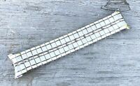 SPEIDEL 10K GF WHITE Gold Filled Expansion Men's Stainless Watch Band Vintage