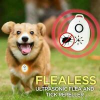 Flealess Ultrasonic Flea Tick Repeller Portable Lightweight Pest/Animal Repeller