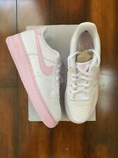 Nike Air Force 1 '07 White/Pink Foam CV7663-100 DS Size 7 Youth 8.5 Womens