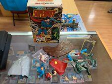Vintage ! Aurora Superboy Comic Scenes 1974 3-D Superman Model Built Pai