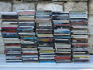 190 CD Sammlung Rock Pop Soul Beat Film Musik 80er 90er Konvolut Compact Discs