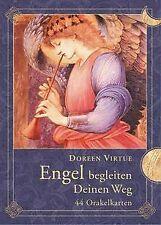 Engel begleiten deinen Weg - 44 Orakelkarten: 44 Orakelk...   Buch   Zustand gut