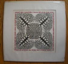 SIGNED WOODBLOCK PRINT Sabra Johnson(Field), Tontine Press, VT c. 1960's