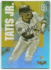 2019 Topps Fire Gold Mint FERNANDO TATIS JR #157 RC Rookie San Diego Padres SP