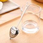 Heart Shaped Stainless Steel Tea Infuser Spoon Strainer Steeper Handle