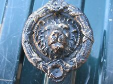 Lion Head Door Knocker Heavy