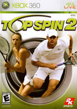 Top Spin 2 (2006) Brand New Factory Sealed USA Microsoft Xbox 360 X360 Game