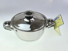 Stainless Steel 18/10 Milano Collection Stock Pot Paulina Excellent Quality