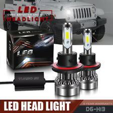 LED Headlight Bulbs Conversion Kits for SUV Jeep Wrangler Unlimited 2007-2017