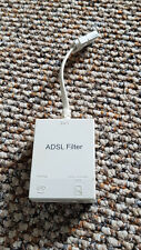 Dual Adapter Broadband ADSL / DSL Filter