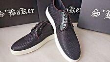 S' BAKER men's black light platform shoes size 43*