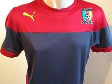 Puma Cameroon Shirt Training Jersey Gr. M Kamerun Herren Trikot red Neu
