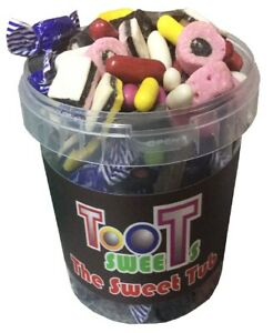 The Sweet Tub Mixed Liquorice Sweets Candy Gift 800 Grams Spogs Rock Toffee more