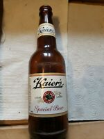 KAIER'S CROWN TOP BEER BOTTLE/ LIGHT LAGER/
