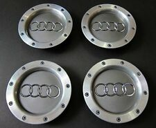 x4 AUDI A4 A6 S6 RS6 TT 146mm WHEEL BADGES CENTER CAPS RIM HUB CAP 8D0601165K