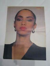 portuguese magazine Telestar Poster Yvan Lendl + Sade Adu