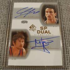 Ginobili,Jaric Autograph Basketball Card NM~EX SP Dual Signatures Rookie