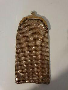 Vintage Gold Glomesh Glasses Case