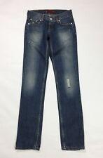 Levis 558 W27 L34 tg 41 patty anne square cut slim leg jeans donna usato T3596