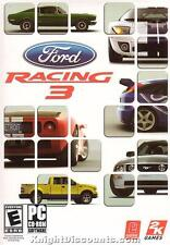 FORD RACING 3 III Racing Sim PC Game NEW BOX Win98-XP