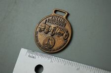 EUCLID PAN TRACTOR SCRAPER Vintage Watch Fob brass heavy equipment earth moving